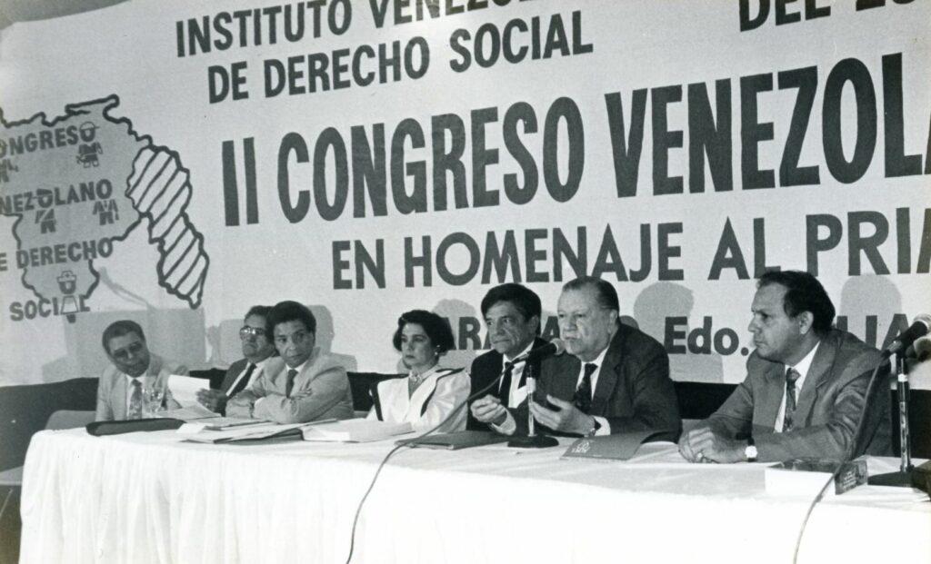 1991. Diciembre, 1. II Congreso Venezolano de Derecho Social. Maracaibo