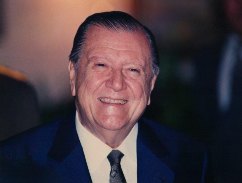 1993. Rafael Caldera, fotografiado por Leo Reinfeld.