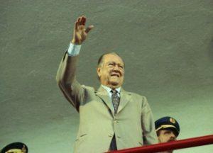 1994. Abril, 23. Visita a Barinas con motivo de los IX juegos deportivos nacionales.