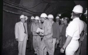 1994. Octubre, 16. Inspección Sistema de transvase Yacambú-Quíbor, con el ingeniero Miguel Nucete.