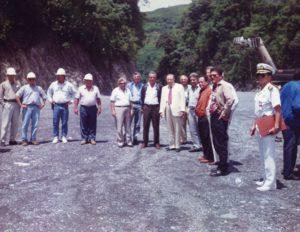 1994. Octubre, 16. Inspección a las obras del Sistema de transvase Yacambú-Quíbor.