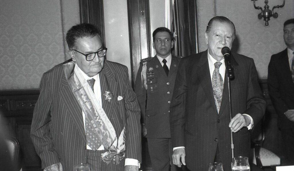 Beltrán Guerrero, Luis. Rafael Caldera