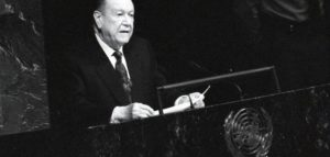 1994. Septiembre, 30. Discurso ante la ONU.