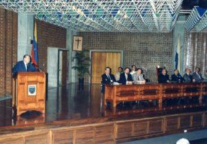 1995. Noviembre 15. Acto Inaugural IV Congreso Venezolano de Derecho Constitucional - UCAB.