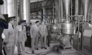 1995. Noviembre, 4. Inauguración de Planta Procesadora de Yuca en el estado Miranda.