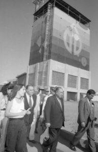1996. Enero, 11. Inauguración de la Planta Lucio Baldó Soulés, en Güigüe, estado Carabobo.