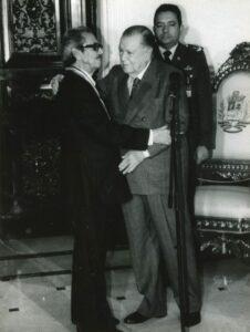 1996. Noviembre, 5. Almuerzo en honor y condecoración a Rafael José Neri, al cumplir 80 años de edad.