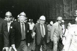 1997. Agosto, 8. Inspección al ferrocarril Caracas-Tuy.