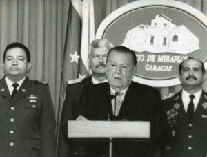 1997. Enero, 1. Alocución de año nuevo en el Palacio de Miraflores.