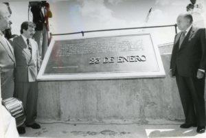 1997. Enero, 23. Inauguración de la represa Macagua II en Puerto Ordaz.