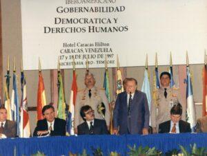 1997. Julio, 17. Reunión preparatoria de la VII Cumbre Iberoamericana de Jefes de Estado y de Gobierno.