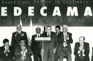 1997. Julio, 22. 53 Asamblea Nacional de Fedecámaras. Hotel Mare Mares, Puerto La Cruz, Estado Anzoátegui.