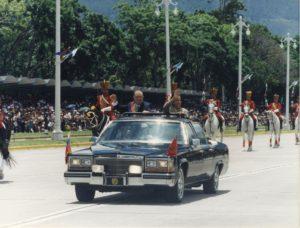 1997. Julio, 5. Desfile Militar en Los Próceres.