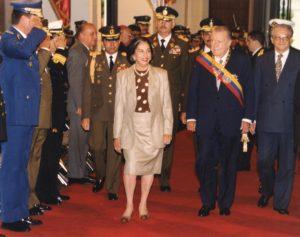 1997. Julio, 5. Entrando al Capitolio Nacional.