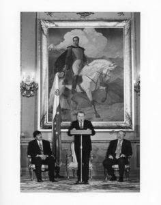 1997. Marzo 8. Acto de participación del inicio del periodo de sesiones ordinarias del Congreso