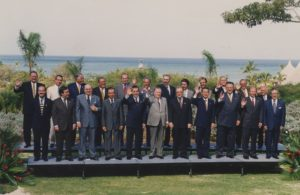 1997. Noviembre, 8. VII Cumbre Iberoamericana de Jefes de Estado y de Gobierno, Margarita.