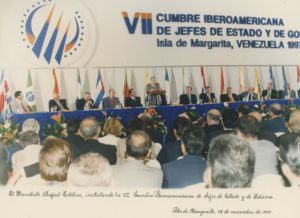 1997. Noviembre, 8. VIII Cumbre Iberoamericana, Isla de Margarita.