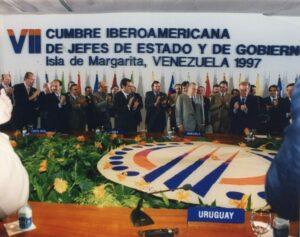 1997. Noviembre, 9. VII Cumbre Iberoamericana de Jefes de Estado y de Gobierno, Margarita.