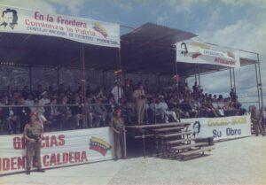 1997. Octubre, 28. Fundación de Ciudad Sucre. Acto central.