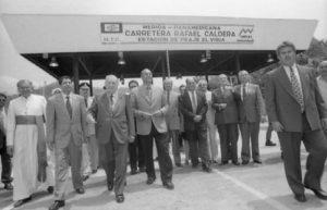 1997. Octubre, 9. Inauguración super-carretera Mérida-El Vigía.