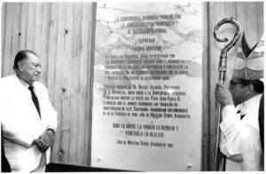 1997. Septiembre 8. Santuario Votivo de la Virgen de Coromoto.