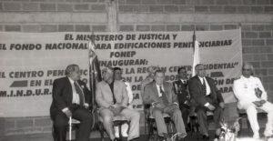 1998. Diciembre, 12. Inauguración del Centro Penitenciario de la Región Centro-Occidental en Barquisimeto, estado Lara.