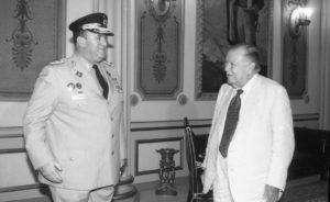 1998. Diciembre, 14. Visita del ministro de Defensa designado, general Raúl Salazar Rodríguez.