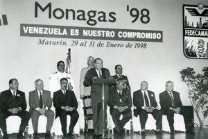 1998. Enero, 29. Instalación de Monagas 98. Asamblea de Fedecámaras.
