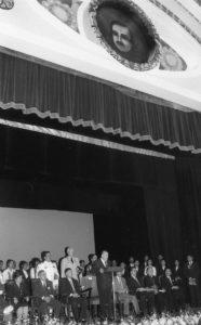 1998. Julio, 18. Reinauguración del Teatro Baralt, Maracaibo, estado Zulia.