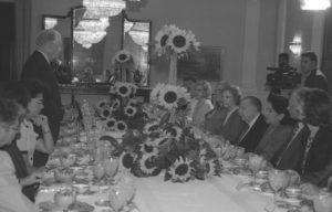1998. Noviembre, 3. Desayuno en honor de los ex presidentes Jimmy Carter y Gonzalo Sánchez de Losada en La Casona.