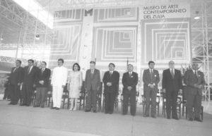1998. Octubre, 24. Inauguración del Museo de Arte Contemporáneo del Zulia, en Maracaibo.