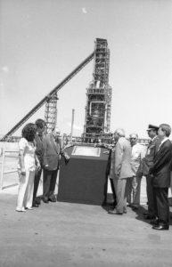 1998. Octubre, 30. Inauguración de la planta del Complejo Siderúrgico de Guayana COMSIGUA.