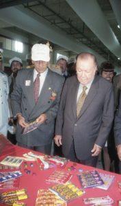 1998. Octubre, 7. Inauguración de la Planta Nestlé de Venezuela. Estado Aragua