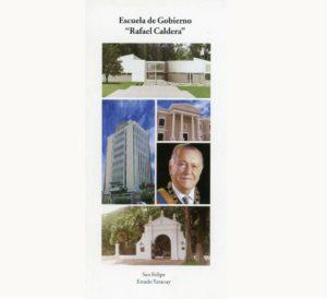 Folleto Escuela de Gobierno Rafael Caldera (2004)