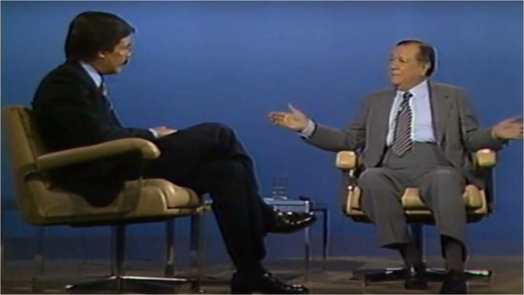 Rafael Caldera en Primer Plano sobre el caso Sierra Nevada, RCTV (1980)