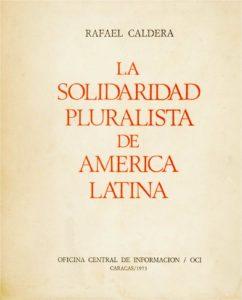La solidaridad pluralista de América Latina (1973)