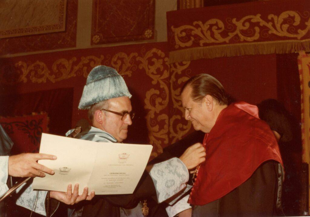 Rafael Caldera honoris causa