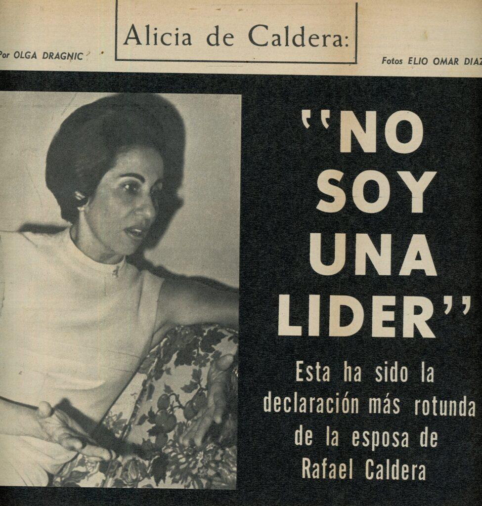 1967 Alicia Pietri de Caldera