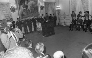 1974 Enero 1 Alocución de año nuevo en Miraflores