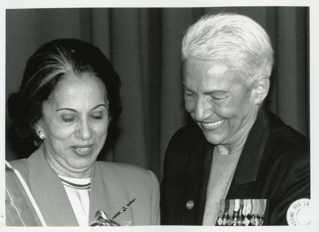 Palabras de Alicia Pietri de Caldera al recibir la distinción Mujer por la Paz (1995)