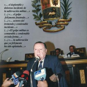 Opinión de Rafael Caldera del Golpe de Estado del 4 de Febrero de 1992