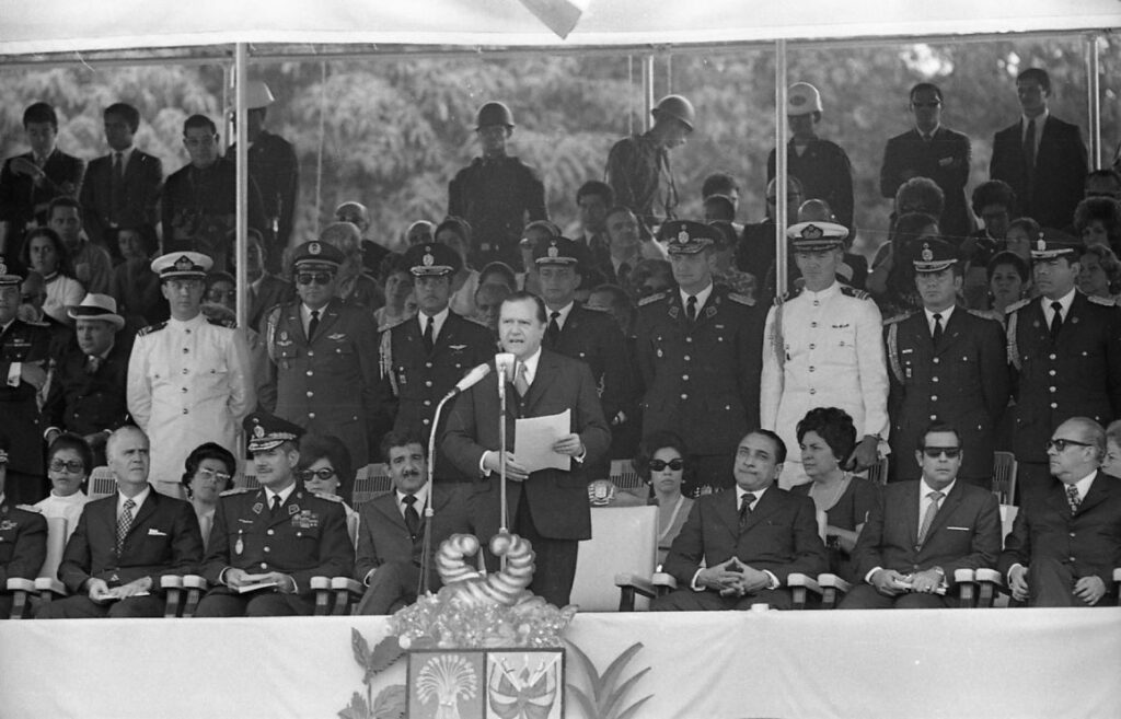 Rafael Caldera - 1971 Junio 24 Sesquicentenario de la Batalla de Carabobo