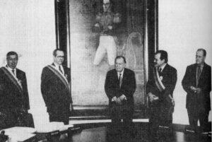 Rafael Caldera - 1999 Enero 18 Condecoración altos funcionarios del Gobierno