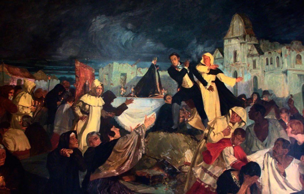 Tito Salas - Terremoto 1812