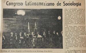Rafael Caldera en el VI Congreso Latinoamericano de Sociología en 1961