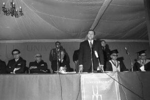 1970 Octubre 22. Inauguración de la Universidad Metropolitana