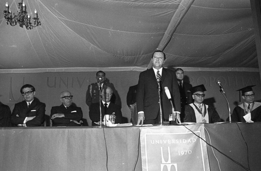 1970. Octubre, 22. Palabras en el acto de inauguración de la Universidad Metropolitana