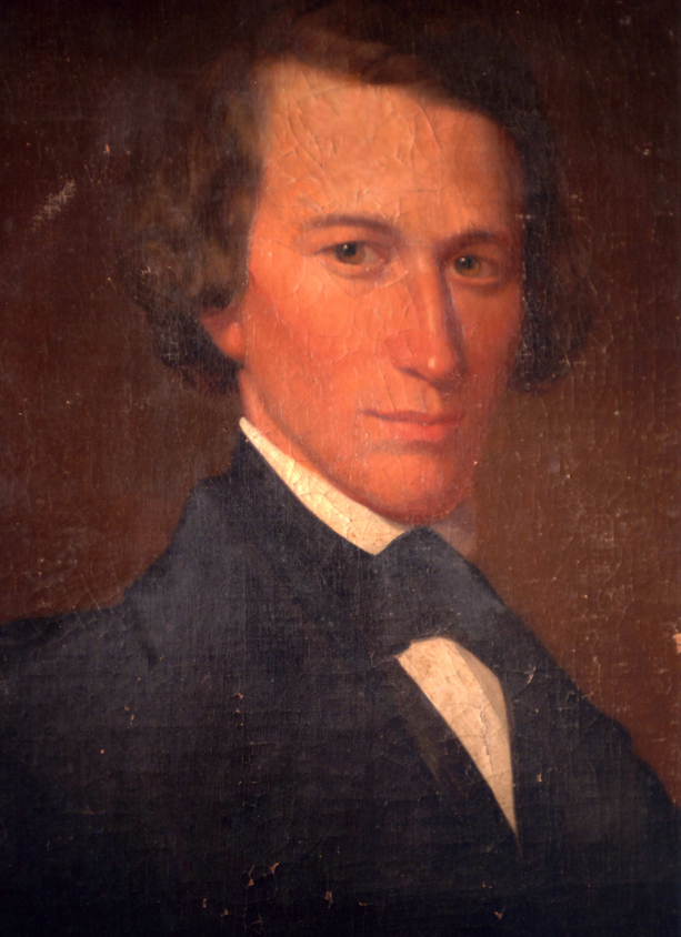 Charles Rannells about 1842, builder of Woodside.  Charles was a two term state senator in the 1850's.