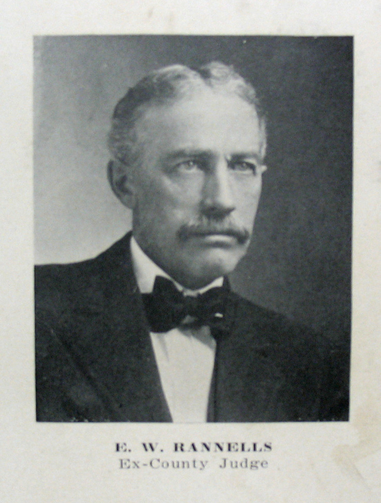 """Edward's photo in the rear of the 1909 St. Louis County Plat book.  Note the """"ex"""".  he was active in 1908 when he voted in favor of the incorporation of the City of Maplewood."""