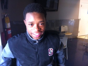 MRH wrestler Romelle Person took second in state.